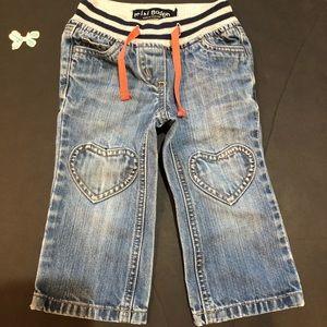 Mini Boden Heart Jeans